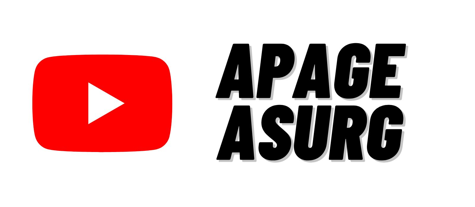 APAGE ASurg YouTube