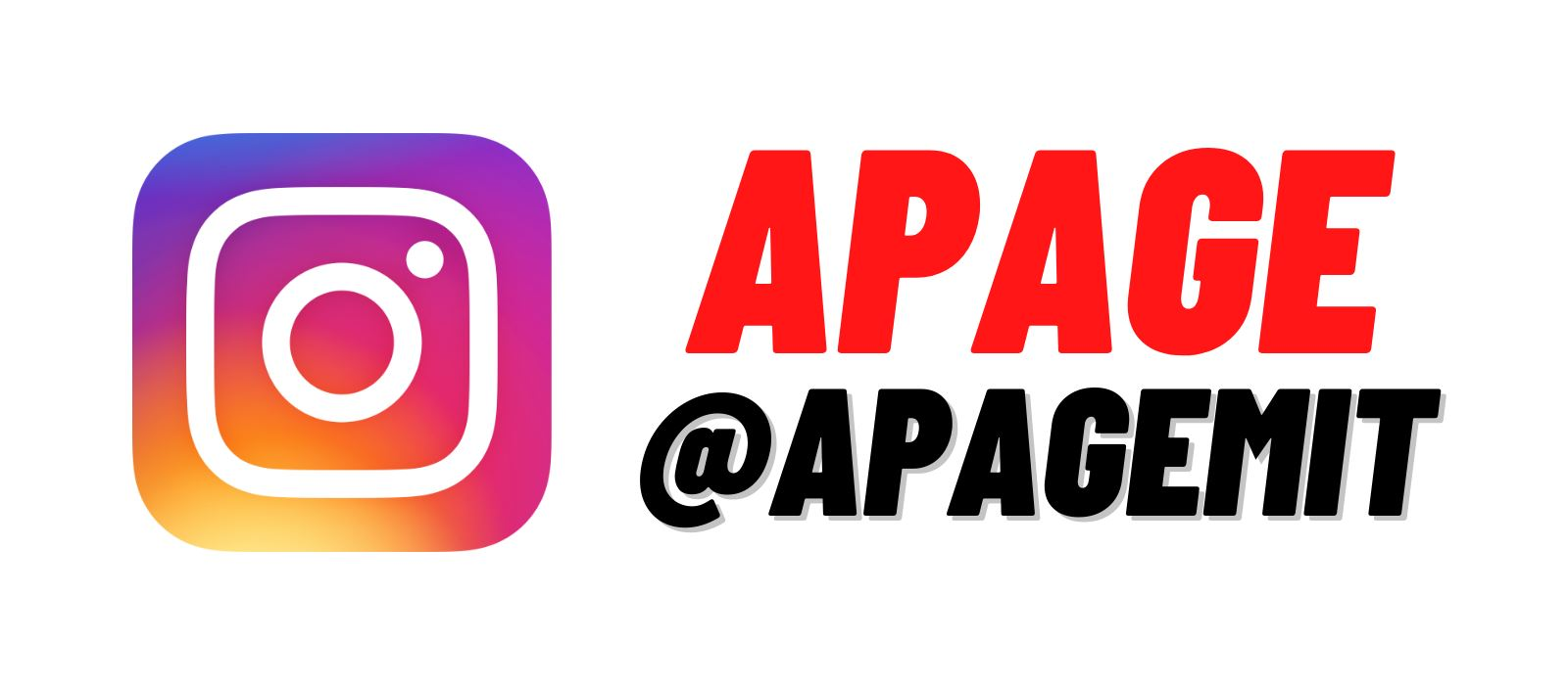 APAGE Instagram